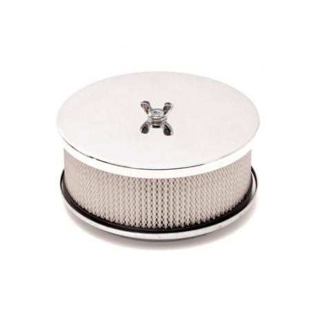 Mr. Gasket filtre à air chromé 6,5'' complet V8 - Universal