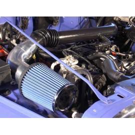 Performance Intake System 4.0-L. Alu/plastique - Wrangler TJ 96 - 06