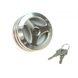 Bouchon de réservoir version antivol aluminium - Wrangler TJ 96 - 00