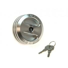Bouchon de réservoir version antivol aluminium - Wrangler TJ 01 - 06