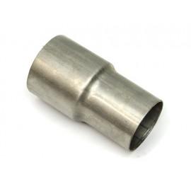 Raccord AD  67 mm - AD  57 mm acier inoxydable