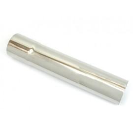 """Raccord pour rallonger un tuyau d echappement Ø 2,5""""  63mm 32cm acier inoxydable"""