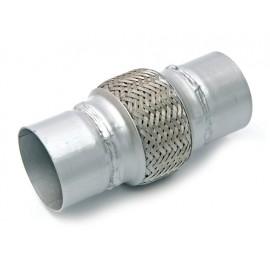 "Tube souple Ø 2,25""  57mm 20cm acier inoxydable"