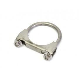 """Collier de tuyau d échappement M8 Ø 1,75""""  Ø 44 mm acier inoxydable"""