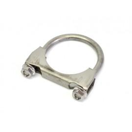 """Collier de tuyau d échappement M8 Ø 2""""  Ø 57-58 mm acier inoxydable"""