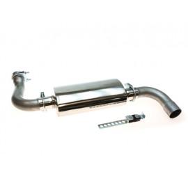 Silencieux 2.8-L. D / 3.6-L. / 3.8-L. acier inox - Wrangler JK 07 -
