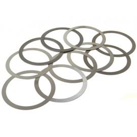 Kit de rondelles d ajustage pign. con. Dana 35 - Wrangler TJ 96 - 06