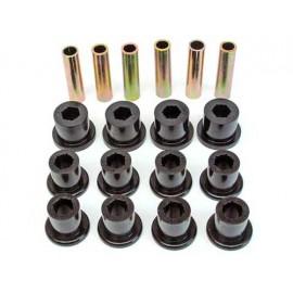 Silentbloc de ressort essieu arrière renforcée en polyuréthane Kit - Wrangler YJ 87 - 95