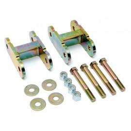 Jumelles de ressort ASP essieu arrière + 25mm - Wrangler YJ 92 - 95