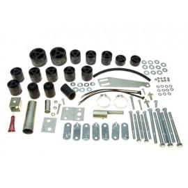 Bodylift Rehausse + 2'' 50 mm Boîte de vitesses / automatique - Wrangler TJ 96 - 06