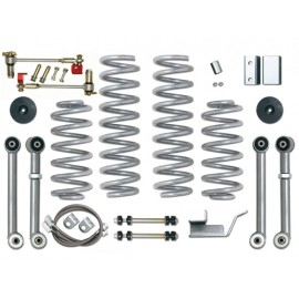 "Super Flex Short Arm Kit + 3,5""  90mm avec ProComp Ammortisseur - Grand Cherokee ZJ / ZG 92 - 98"