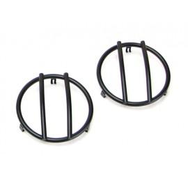 Grilles de protection de feu noir (feux clignotants avant) - Wrangler JK 07 - 15