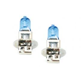 """Lampes halogène-type """"Super white H3 Quanité 2 unités H3-12Volts 130W (sans homologation UE pour la route)"""