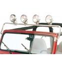 Arceau de projecteurs acier inox