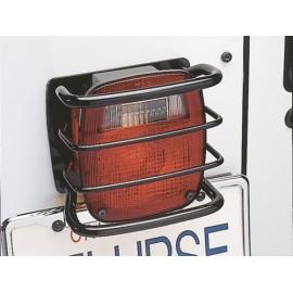 Protections de feu arrière finition noire, seulement proj. Etats-Unis - Wrangler YJ 87 - 95