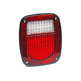 Feu arrière blanc droit US LED - Wrangler TJ 96 - 06
