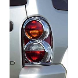 Cadre de projecteur plastique chromé arrière - Cherokee KJ 02 - 04