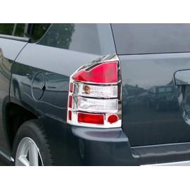 Cadre de projecteur plastique chrom arrière - Compass 06 - 10