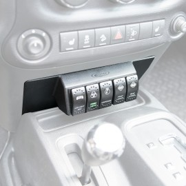 Console blocages without Switches - Wrangler JK 11 - 16