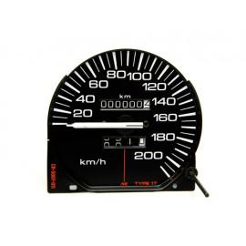 Indicateur de vitesse km/h - Cherokee XJ 91 - 96