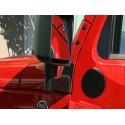 Kit de supports de rétroviseur finition noire - Wrangler JK 07-