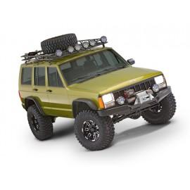 Bushwacker Kit d'extensions d'ailes Flat Fender Style 4 Portes 4 éléments - Cherokee XJ 84 - 01