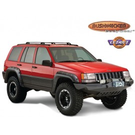 Bushwacker Kit d'extensions d'ailes Cut Out Flare 4 Portes 4 éléments - Grand Cherokee ZJ / ZG 92 - 98