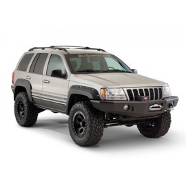 Bushwacker Kit d'extensions d'ailes Cut out Flare 4 Portes 4 éléments - Grand Cherokee WJ / WG 99 - 04