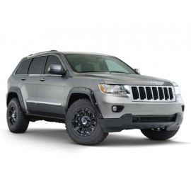 Bushwacker Kit d'extensions d'ailes Pocket Style 4 éléments Euro - Grand Cherokee WK2 11 - 16