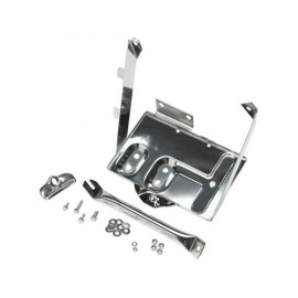 Support de batterie acier inox - Jeep CJ 76 - 86