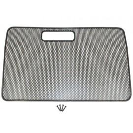 Protege-radiateur noir - Wrangler TJ 96 - 06