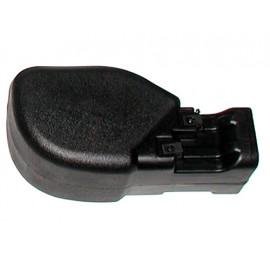 Moulure de pare-choc (mat. plast) avant droit - Wrangler TJ 96 - 06
