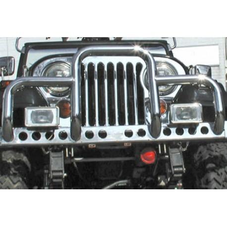 Barre de protection ''New Yorker'' acier inox - Jeep CJ 76 - 86