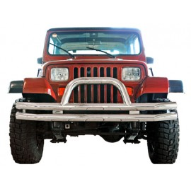 Barre de protection ''Californio'' acier inox Ø 65mm - Jeep CJ 76 - 86