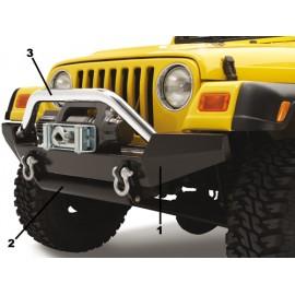 Winch Bumper HighRock 4x4 - Wrangler TJ 97 - 06