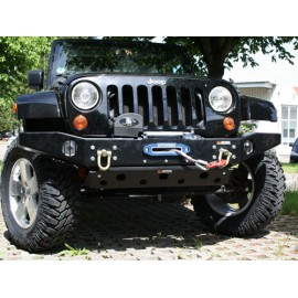 Winch Bumper black 2/4 door