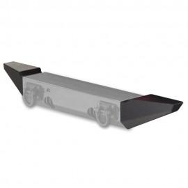 Mid Width End Plates XHD Modular - Wrangler JK 07 - 16