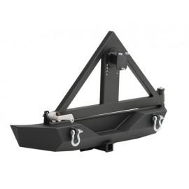 Rear Bumper Smittybilt noir - Wrangler JK 07-