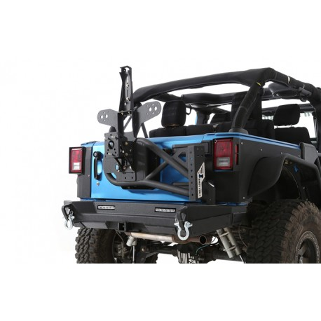 Pare chocs arrière Gen2 avec support de roue - Wrangler JK 07 - 16