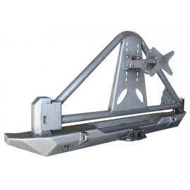Pare chocs arrière Rock Brawler 2 avec support de roue - Wrangler TJ 96 - 06