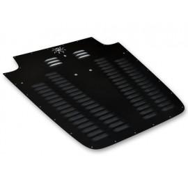 Capot-moteur protecteur noir - Wrangler TJ 03 - 06