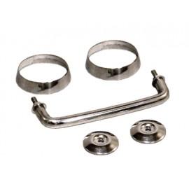 Kit d arceaux d appui acier inox - Wrangler TJ 96 - 06