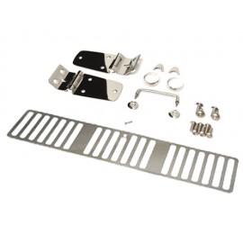 Kit de capot acier inox - Wrangler TJ 96 - 97