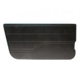 Revêtements de portes gauche finition noire - Jeep CJ 76 - 86