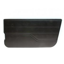 Revêtements de portes droit finition noire - Wrangler YJ 87 - 95
