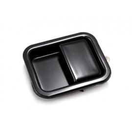 Poignée encastrée noire gauche - Wrangler YJ 87 - 95