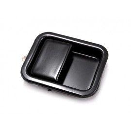 Poignée encastrée noire gauche (porte pleine) - Wrangler TJ 97 - 06