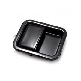 Poignée encastrée noire droite (porte pleine) - Wrangler TJ 97 - 06