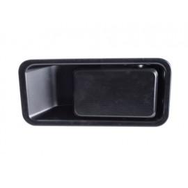 Poignée encastrée noire gauche (demi-porte) - Wrangler TJ 97 - 06