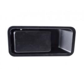 Poignée encastrée noire droite (demi-porte) - Wrangler TJ 97 - 06